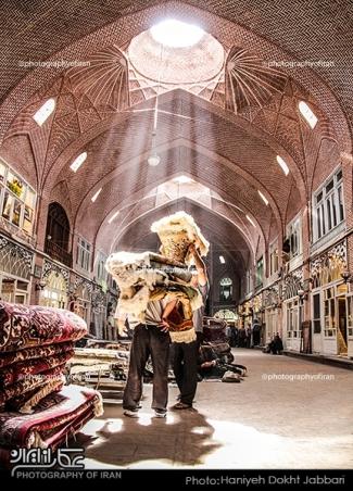 بازار مظفریه تبریز عکس هانیه دخت جباری©AÃsç|ª